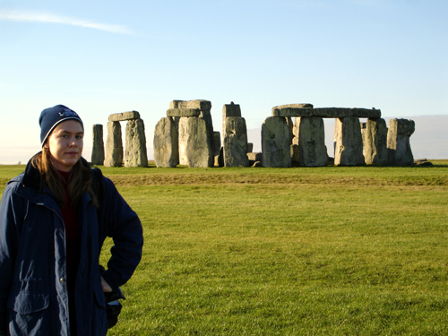 Me at Stonehenge