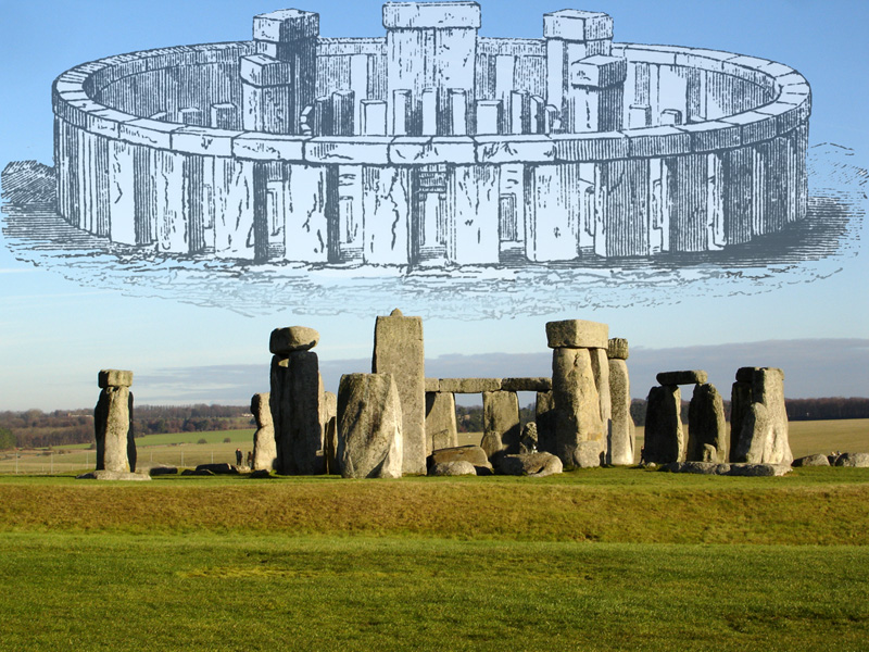 Stonehenge comparison